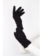 Женские перчатки Амина L Черный Черный