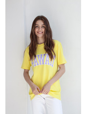 Футболка Кіара XS Жовтий Жовтий
