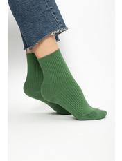 Носочки Шерри Хлопок Зеленый Зеленый 36-38