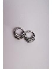 Сережки пусети SER-21303 Серебристый