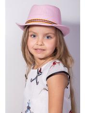 Шляпа детская Муреа Розовый Розовый 52