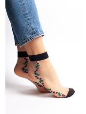 Носочки Кипс упаковки free size Серый Разные цвета - 11