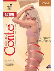 Колготки Conte Active 4 bronz