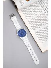 Женские часы Мэри Длина 22.2(см)/Ширина 1.8(см) Белый Белый+синий