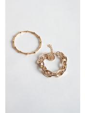 Набор браслетов NBR-21010 Золотистый