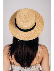 Шляпа канотье Гэйл с ленточками