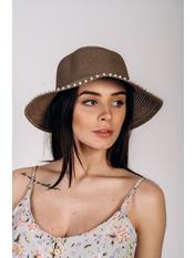 Шляпа слауч Робин Капучино Темно-капучиновый 58