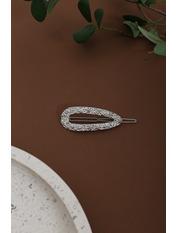 Заколка Норин Серебристый Длина 6.5(см)/ Ширина 2.5(см) Серебристый