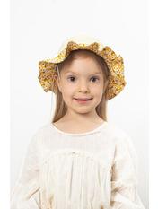 Шляпа детская Мэри Желтый 49