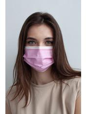 Медичні маски one size Розовый