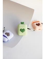 Чехол для наушников Apple Два сердечка