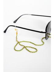 Цепочка для очков AKS-0016 Длина 16.4(см)/ Ширина 2(см) Зеленый Салатовый