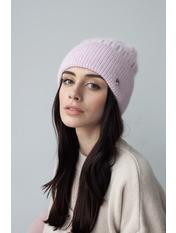 Шапка Либрия Розовый one size Светло-розовый