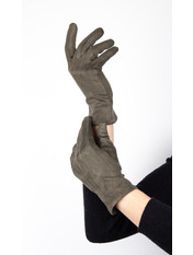 Женские перчатки Тайси Зеленый S Хаки