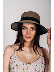 Шляпа слауч Джеми Капучино 55 Темно-капучиновый