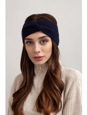 Повязка на голову Амелия one size Синий Индиго