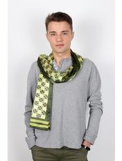 Чоловічий шарф Полукс 166*27 Зелений Салатовий