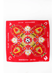 Бандана Манчестер 55*55 Красный