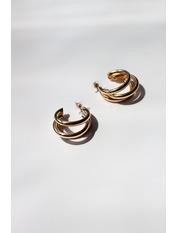 Сережки підвіски SER-21320 one size Золотистый
