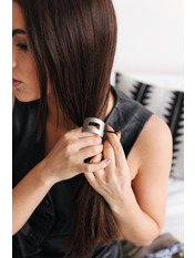 Резинка для волос REZ-21003 Серебристый