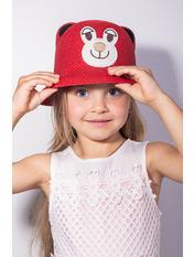 Шляпа детская Элсмир Красный Красный 52