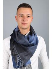 Мужской шарф Родерик 180*30 Синий