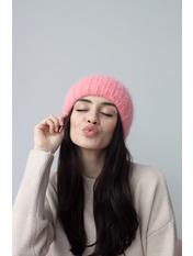 Шапка Юрмала Розовый one size Темно-пудровый