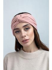 Повязка на голову Монти one size Розовый Персиковый