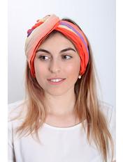 Шарф Косичка радуга 170*50 Оранжевый Оранжевый+желтый
