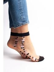 Носочки Кипс упаковки free size Серый Разные цвета - 10