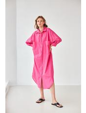 Рубашка RA-0830 one size Розовый