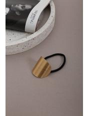 Резинка Айрис Золотистый Длина 6(см)/ Диаметр 14(см) Золотистый