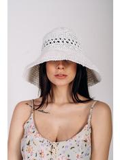 Шляпа слауч SHL-2008 Белый 58
