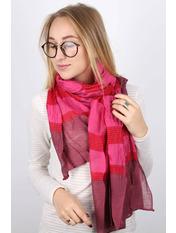 Шарф Мунго 160*60 Розовый Малиновый