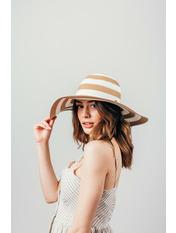 Шляпа широкополая Фарлей Капучино Капучиновый 54-56
