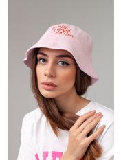 Панама PN-5410 Розовый 55-58 Светло-пудровый