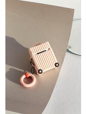 Чохол для навушників Чемоданчик колесами one size one size Розовый Пудровый