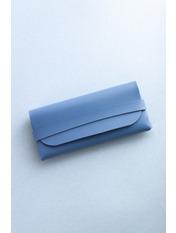 Чехол для очков Вили 17*8*1 Голубой Голубой