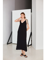 Платье PLA-STL-11472 S Черный