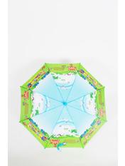 Зонт детский Клипси 100*49*68 Желтый Желтый+голубой
