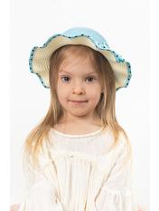 Детская шляпа SHL-3991 Голубой 49
