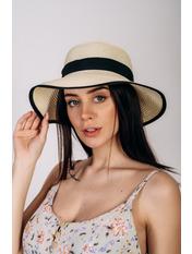Шляпа слауч Джеми Молочный 55 Молочный