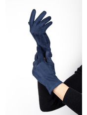 Женские перчатки Тайси Синий S Синий