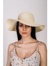 Шляпа широкополая Анджела Молочный Молочный 56