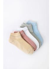 Носочки Гамми упаковка Желтый 36-39 Разные цвета