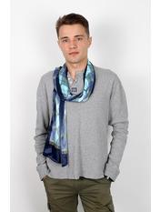Чоловічий шарф Полукс 166*27 Синій Синій