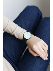 Женские часы Мэри Черный Черный+белый