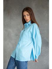 Рубашка RA-6495 S Голубой