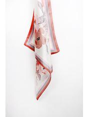 Платок Сигрид 70*70 Розовый Пудровый