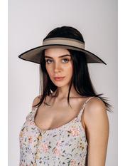 Широкополая шляпа SHL-4676 Коричневый